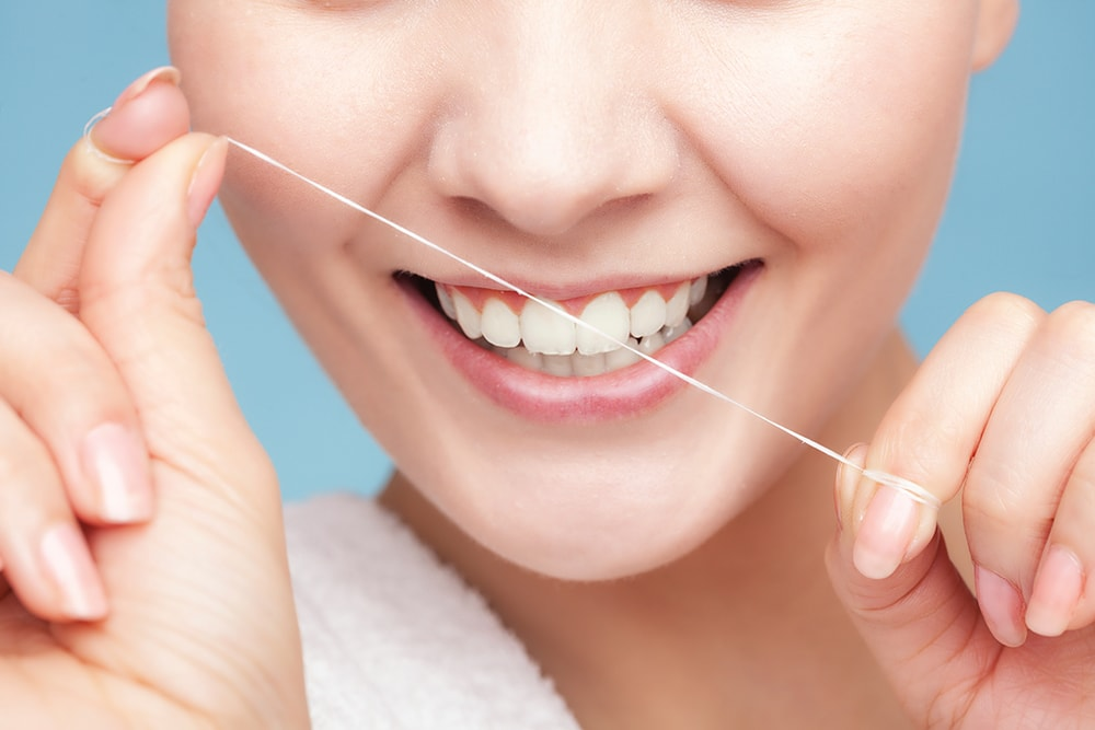 Diy dental care how to floss your teeth for What is flossing