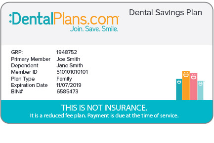 Dental Saving Plans