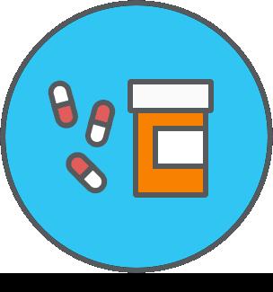 Prescription Pills and Bottle